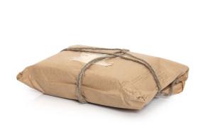 Vintage post parcel